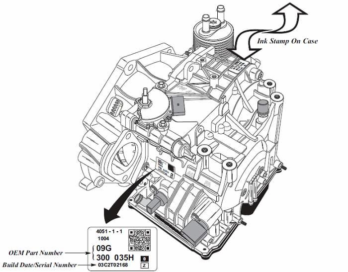 Ford 4R44E-4R55E