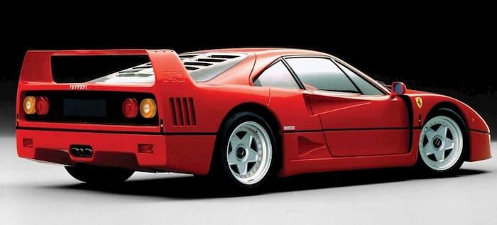 Manual de mecánica Ferrari F40