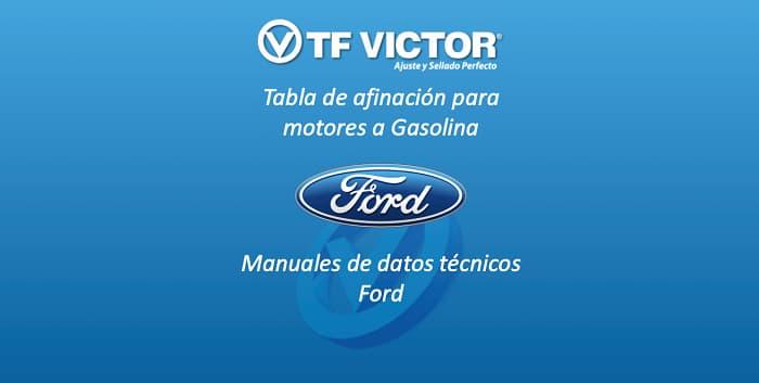 Manual de Datos técnicos TF Victor-Ford