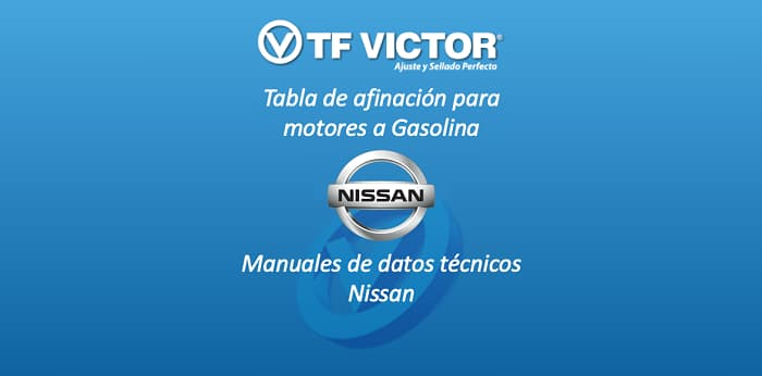 Datos técnicos TF Victor-Nissan