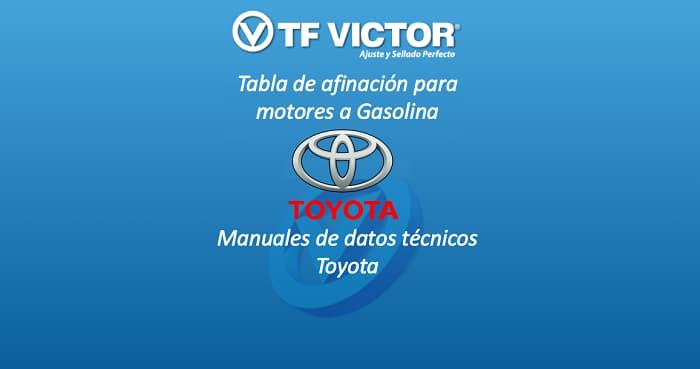 Datos técnicos TF Victor-Toyota