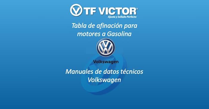 Datos técnicos TF Victor-Volkswagen