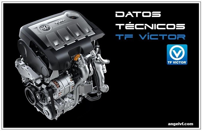 Datos técnicos TF Víctor Para motores a gasolina