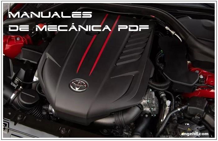 Manuales de mecánica automotriz PDF